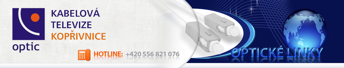 KTKoptic – Kabelová televize Kopřivnice, s.r.o., Záhumenní 1152, 74221 Kopřivnice, tel. 556821076, ktk@ktk.cz